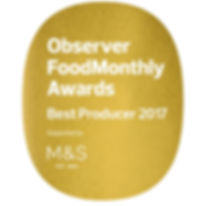 Guardian Observe Food Monthly awards 2017 Best Producer