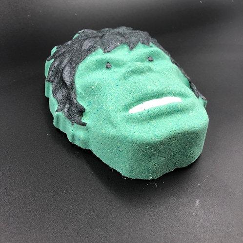 Hulk bath bomb