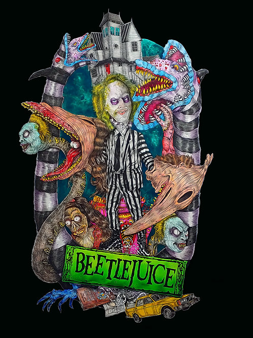 Beetle Juice Shower Potion  10 oz