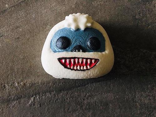 Bumble snowman bath bomb