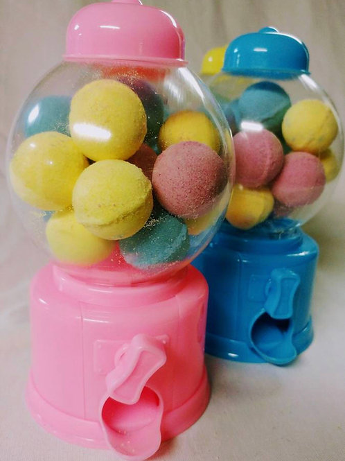 Bath Bomb Gumball Machine