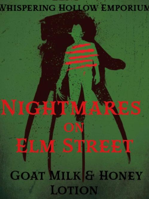 Nightmares on Elm Goat Milk & Honey Lotion 10oz
