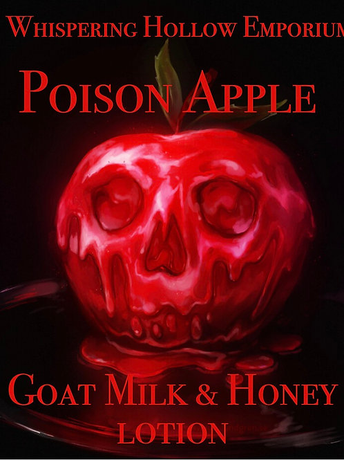 Poison Apple Goat Milk & Honey Lotion 10oz