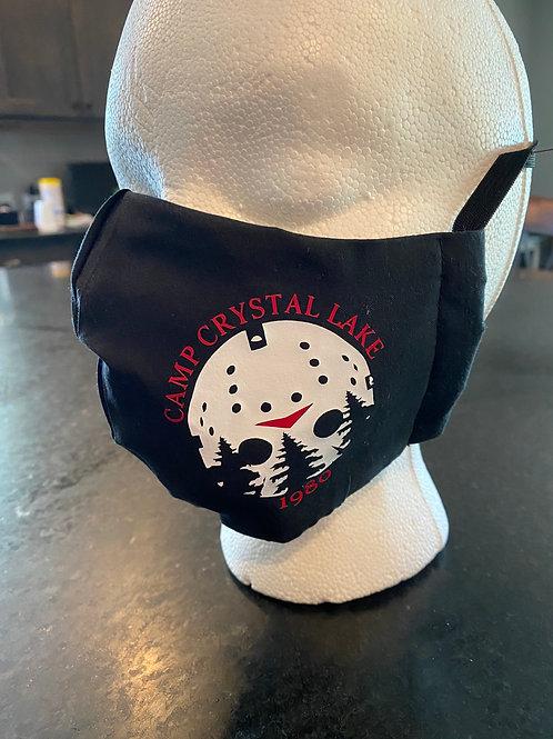 Jason Crystal Lake face mask