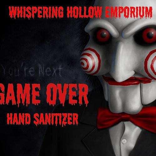 Game Over Hand Sanitizer 10oz