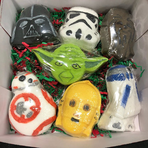 Star Wars Bath bomb Gift Set