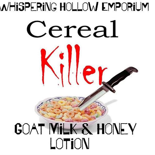 Cereal Killer Goat Milk &Honey Lotion 10oz