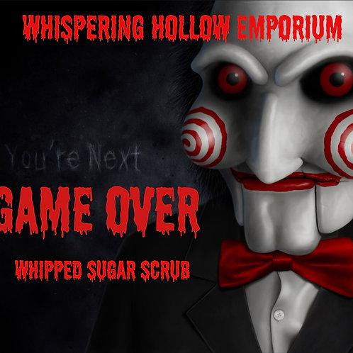 Game Over Whipped Sugar Scrub 8oz