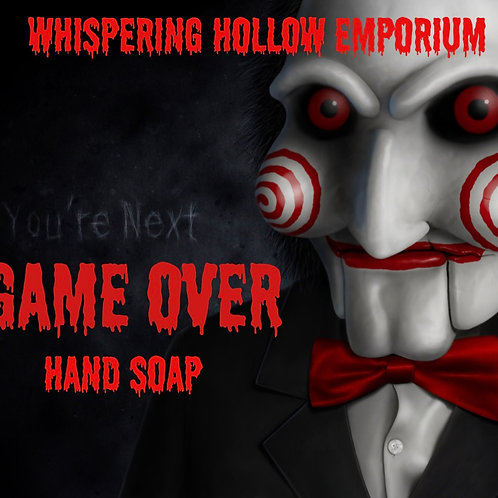 Game Over Foaming  Hand Soap