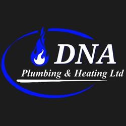 DNA Plumbing & Heating  logo designed by Daniel & Joseph
