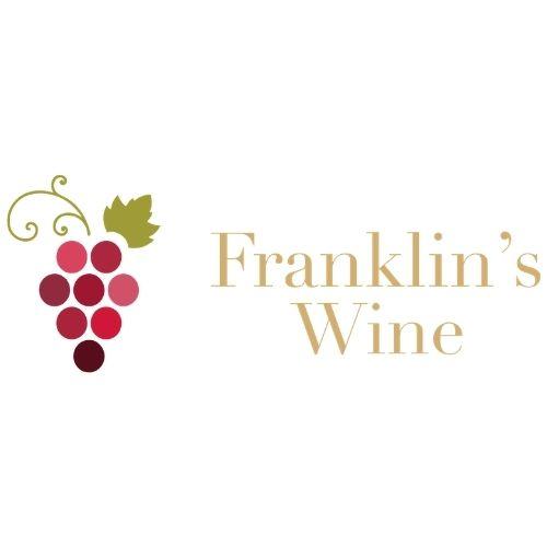 Franklin's Wine  logo designed by Daniel & Joseph
