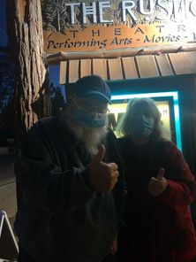 Patrons of The Rustic for 18 years returning on opening night after Covid shutdown