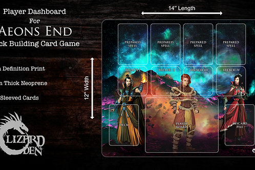Aeon's End custom made player mat