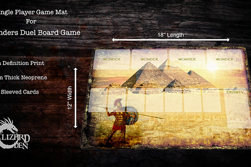 7 Wonders Duel Custom Made Game Mat