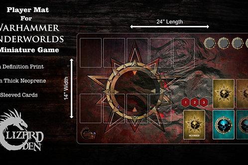 Custom game mat compatible with Warhammer Underworlds