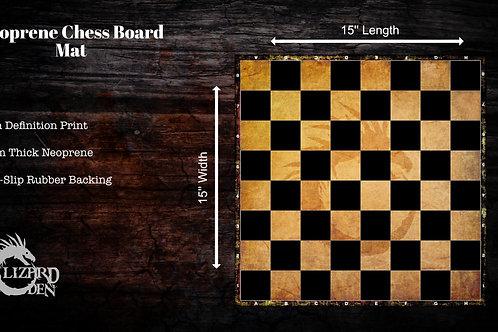Neoprene Chess Board Mat