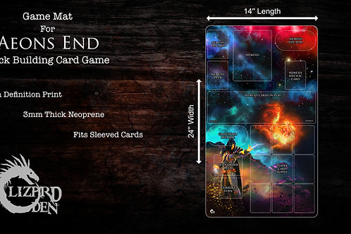 Aeons End Custom Made Game Mat
