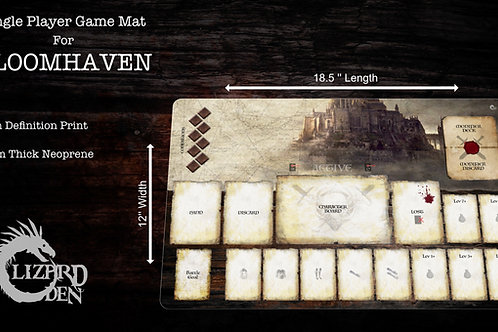 Custom game mat compatible with Gloomhaven