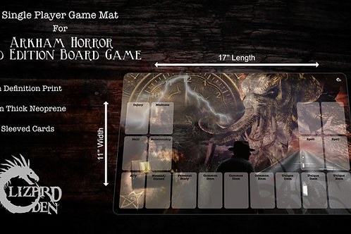 Arkham Horror 2nd edition Custom Made Game Mat