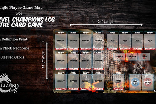Marvel Champions LCG Custom Game Mat Large