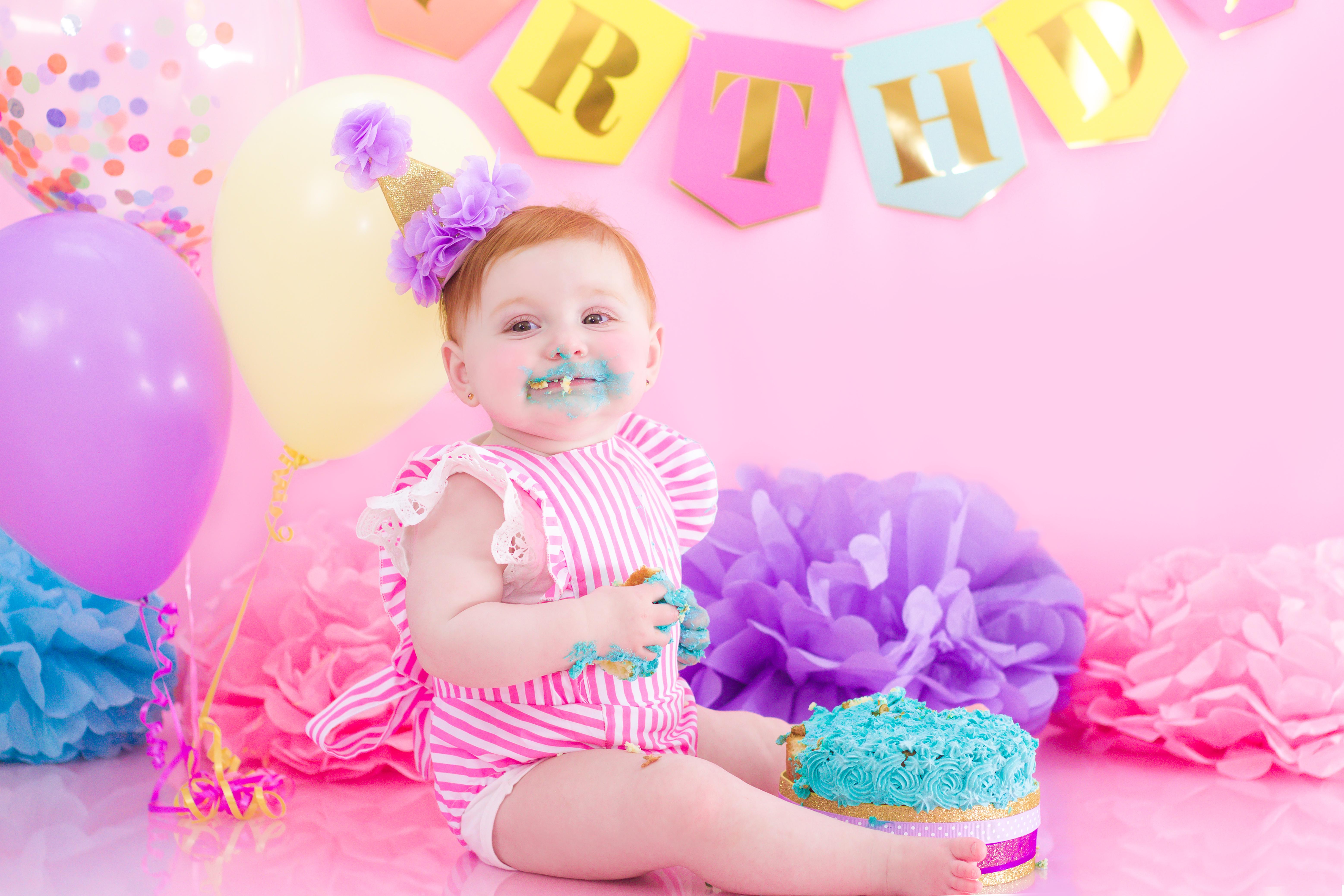 Iylah Cake Smash 9