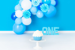 blue one