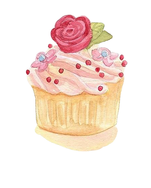 255-2559675_cupcake-watercolor-painting-