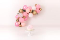 Pinks:Golds Greenery Garland