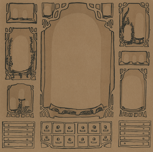BLANK Curio Cabinet