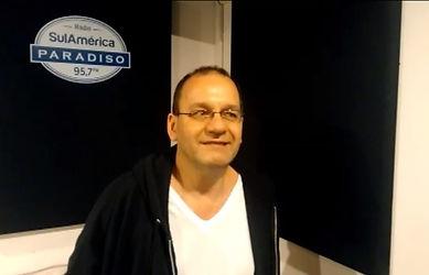 Jorge Rebello, Locutor.