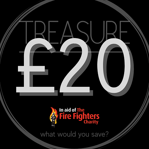 Treasure Ticket £20.00