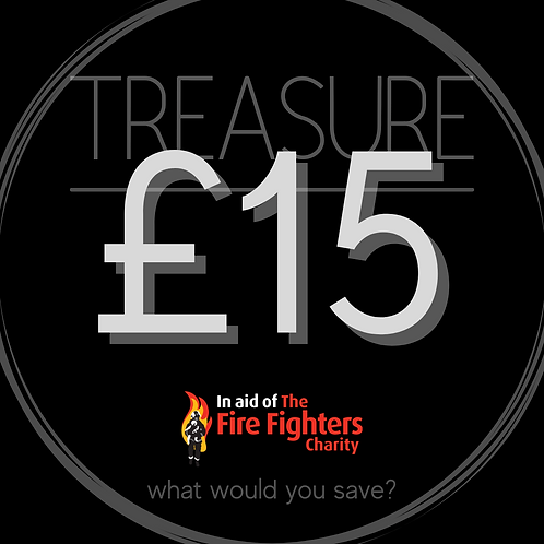 Treasure Ticket £15.00