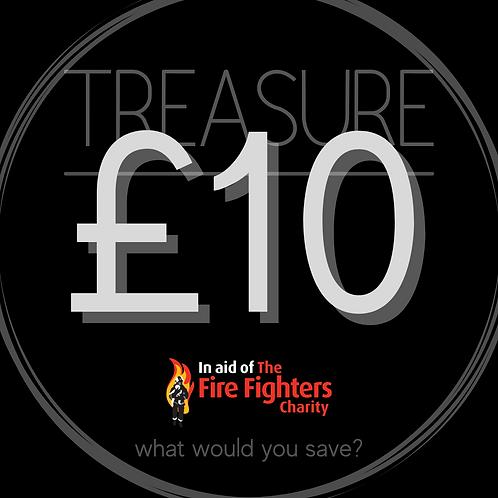 Treasure Ticket £10.00