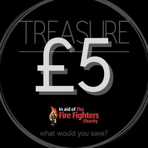 Treasure Ticket £5.00