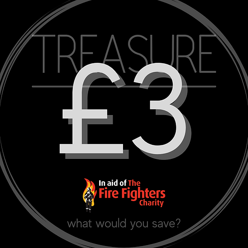 Treasure Ticket £3.00