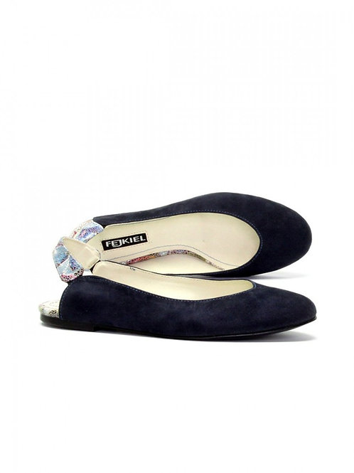 Ballerina Corsico Navy Blue