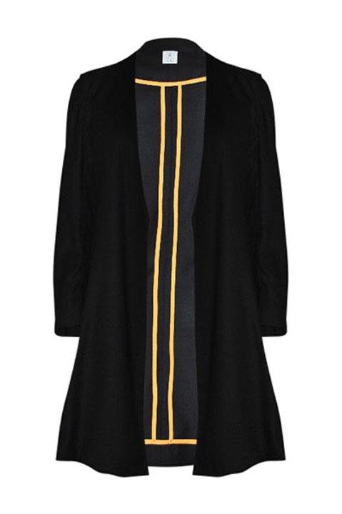Mantel Coat schwarz