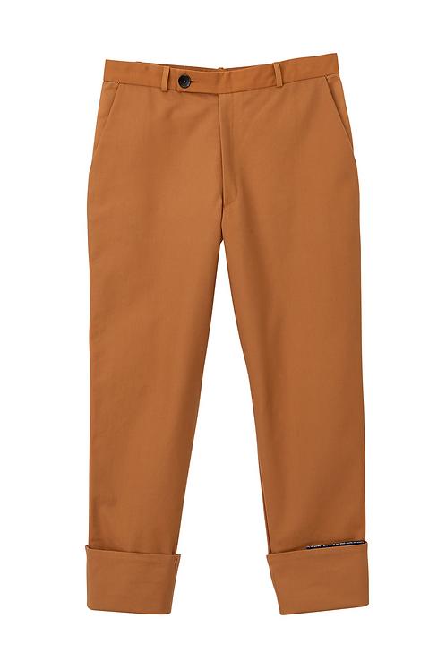 Men's Cuffed Dress Trousers