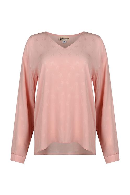 Elegante Bluse rosa