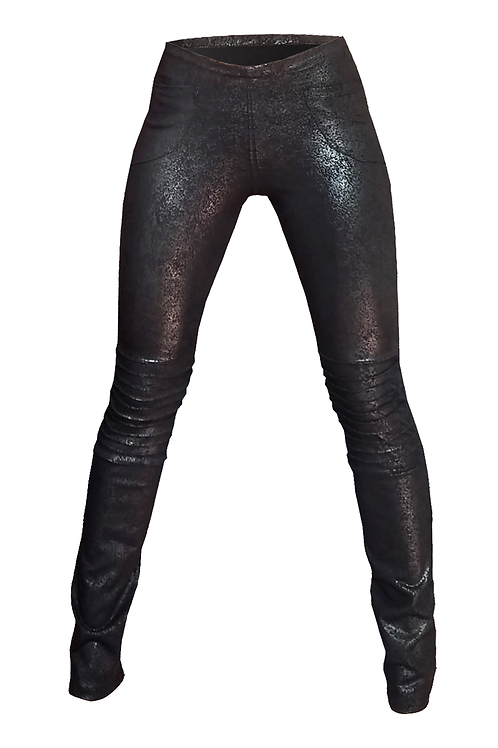 Biker Treggings Black