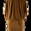 Thumbnail: Kleid Bat Dress Kupfer