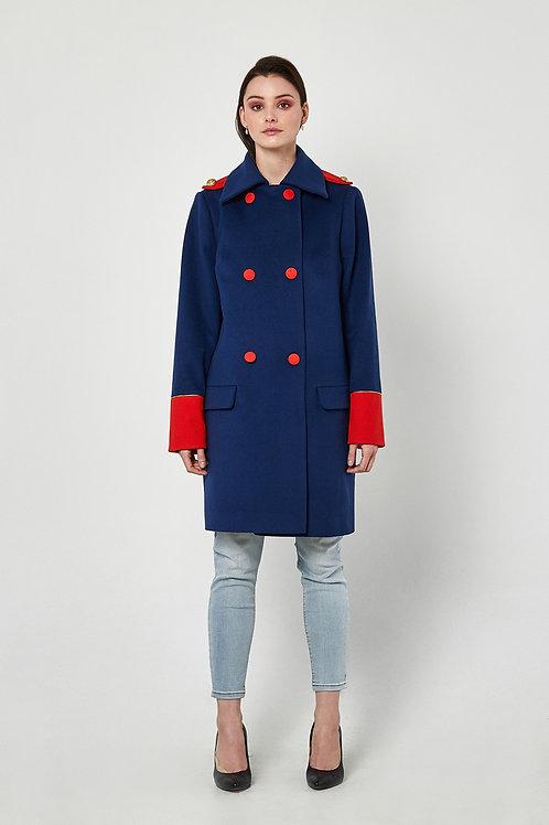 Mantel Bleu