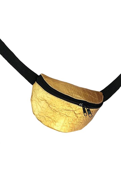 Gürteltasche S PINATEX® gold