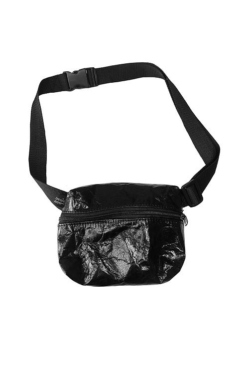 HipBag PINATEX®  metallic black