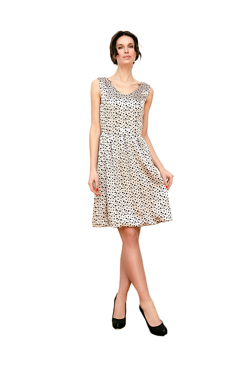 Dress Transparent Dots Silver