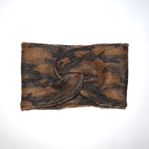 Stirnband Camo aus Wolle