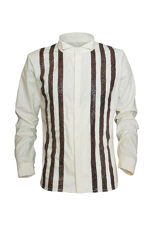 Smoking Shirt Stripes Cream