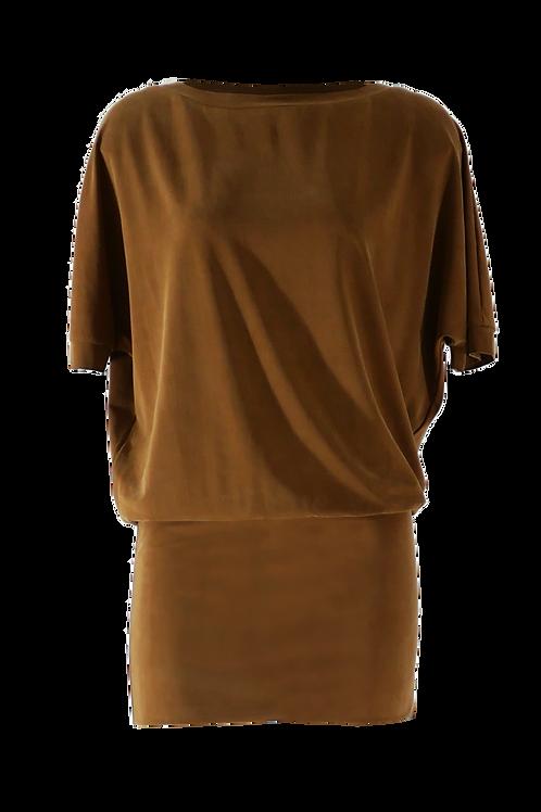 Kleid Bat Dress Kupfer