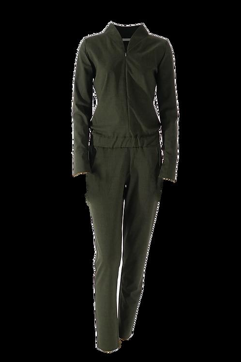 Overall Chloé olivgrün