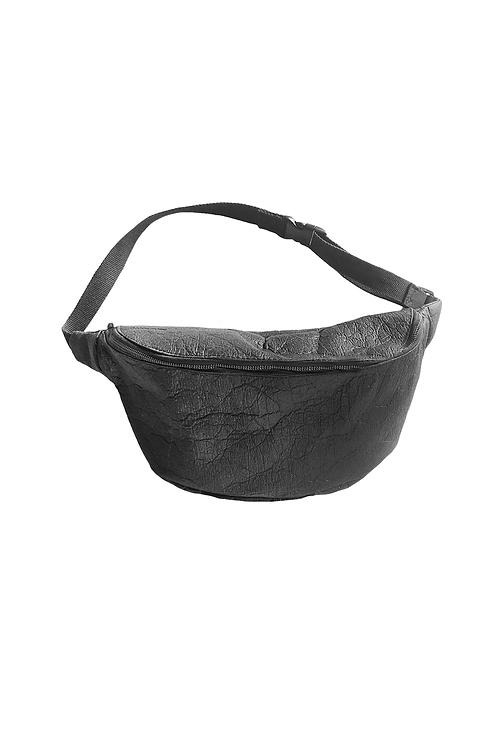 Crossbody Bag XL PINATEX® schwarz